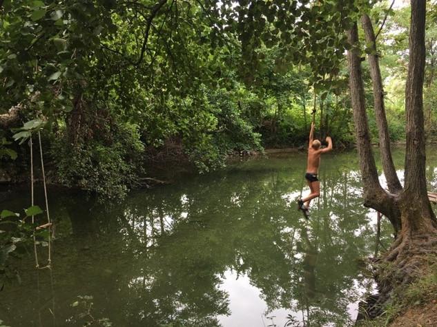 Zeleni kamp - 4. dan - Tarzan