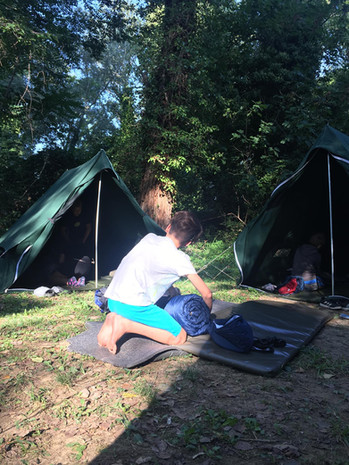 Zeleni kamp - 5.dan - Pospravljanje