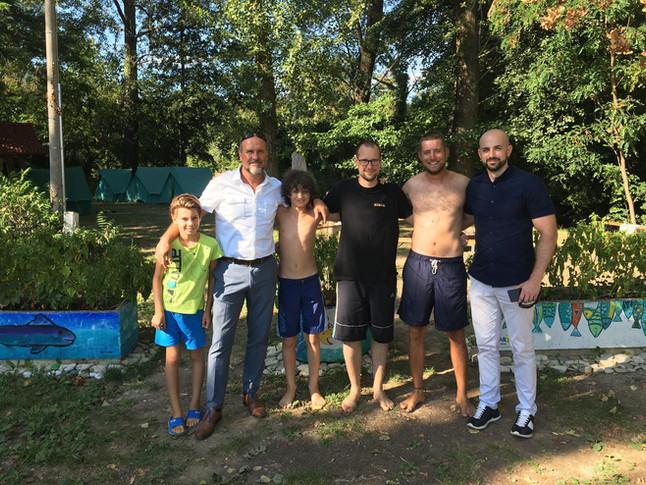 Zeleni kamp - 1.dan - obiskali so nas predstavniki ZRS-ja