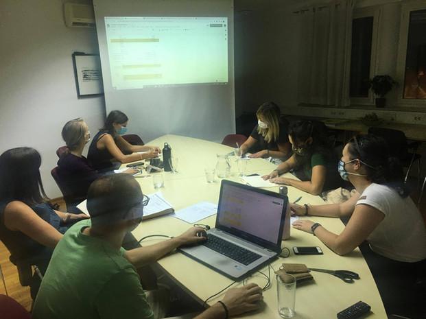 Zadnji sestanek ekipe Zelencev pred Zelenim Kampom 2020 - 21.8.2020