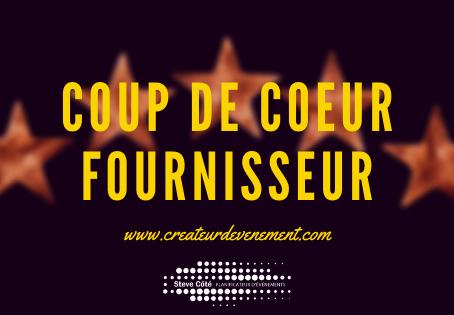 Coup de coeur - fournisseur -                 DX mobilier événementiel