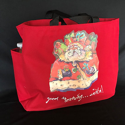 Canvas Tote Red