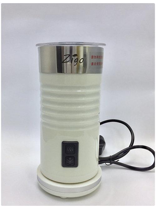 ZIGO 電動冷熱奶泡機 全自動打奶器 打奶泡機 打泡器 牛奶加熱器 泡器