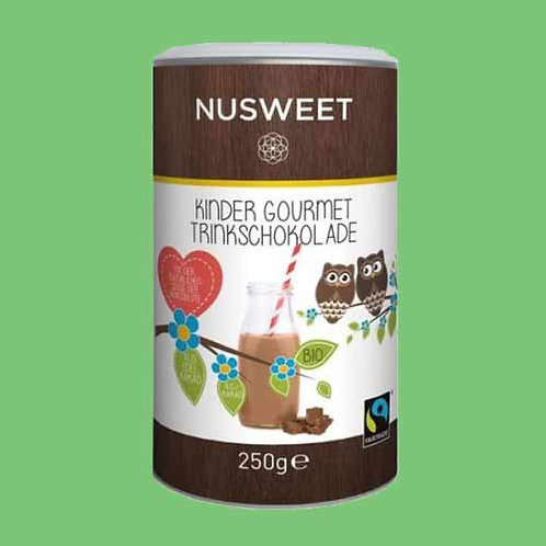 Nusweet Kinder Trinkschokolade Gourmet 250 g 兒童巧克力飲料(朱古力粉)