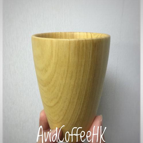 咖啡聞香杯 實木原色咖啡接粉杯 咖啡磨豆機接粉杯 小飛馬合用接粉杯
