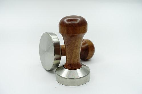 咖啡填壓器  (木手柄,不鏽鋼底)  壓粉器 半自動機適用 壓粉墊 $23-$205