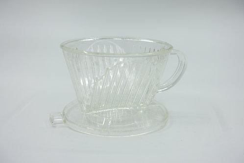 美式手沖濾杯  扇形過濾杯 手沖滴濾咖啡杯 -1杯份