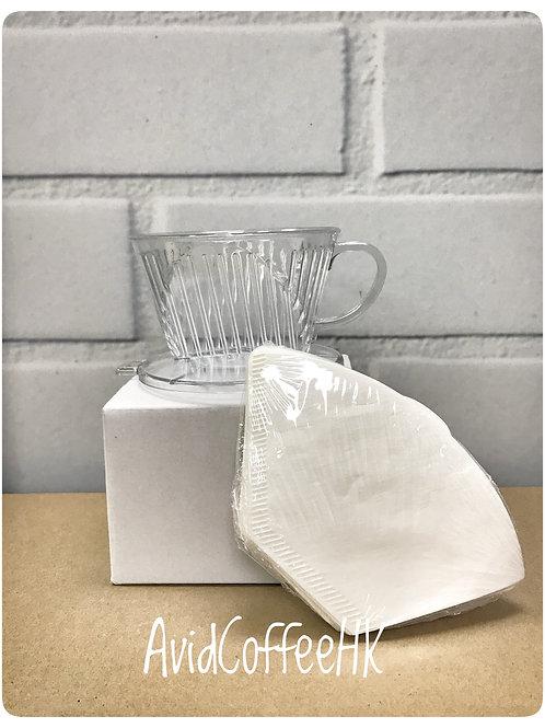 美式手沖咖啡 濾杯 濾紙組合