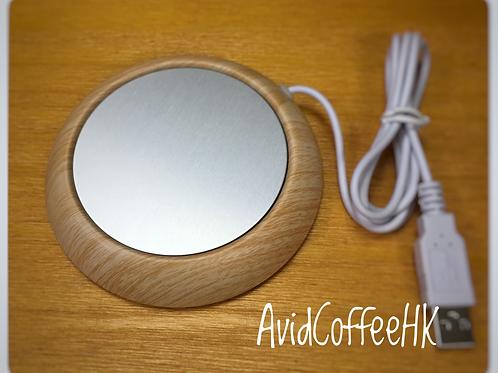 咖啡杯保溫杯墊 Heat PAD 加熱保溫 溫杯器 恒溫墊 USB金屬保暖杯墊