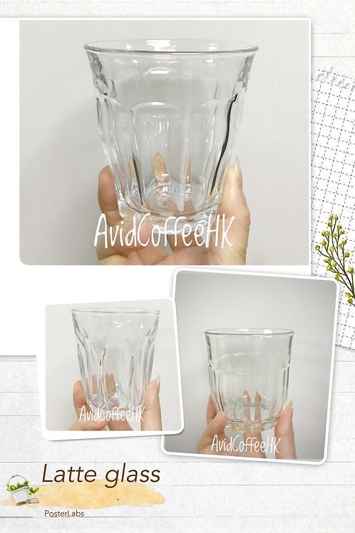 Latte glass, mocha coffee, flat white 鋼化耐熱透明玻璃杯 咖啡杯 220ml