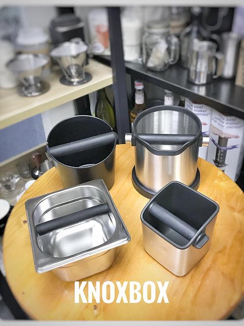 專業不鏽鋼咖啡粉渣糟  Knock box 咖啡渣桶 敲粉盒 $139-230