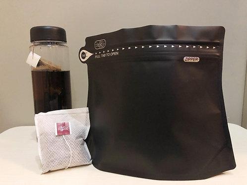 冷泡咖啡 COLD BREW COFFEE – (落單即烘, 預制 咖啡包*8(+/-18g)