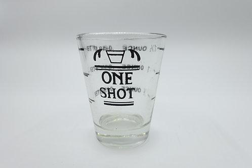 量杯(附刻度)  安士杯 Shot Glass 特濃咖啡玻璃杯  - 30cc