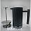 Thumbnail: 啞光不銹鋼鴨咀雙層法壓壺 法式濾壓 咖啡壺 雙層保溫壺 法式按壓式濾壓壺 1-2人份