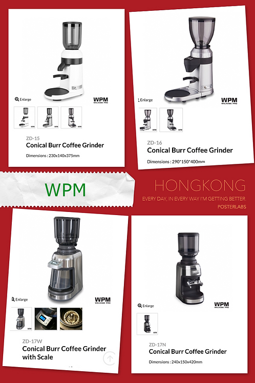 WMP Coffee Grinder 電動磨豆機 (行貨)