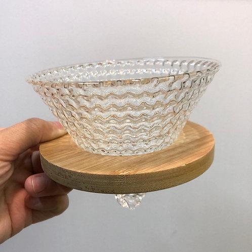草莓濾杯(送實木托)玻璃濾杯02 手沖咖啡濾杯