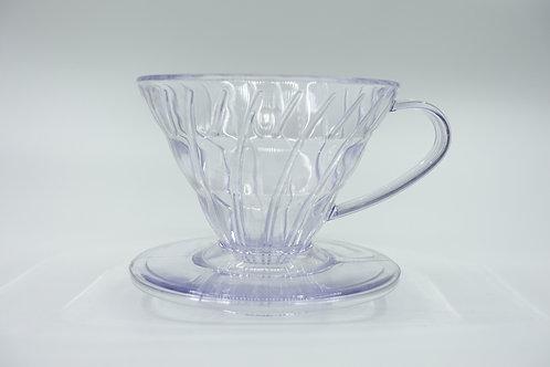 V型手沖濾杯  螺旋形滴濾咖啡 (連濾布, 量匙) 1-2人份/$49, 2-4人份/$66