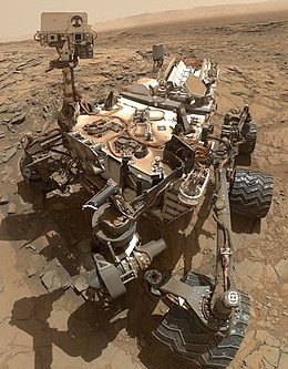 360 deg view of Mars from Curiosity Rover