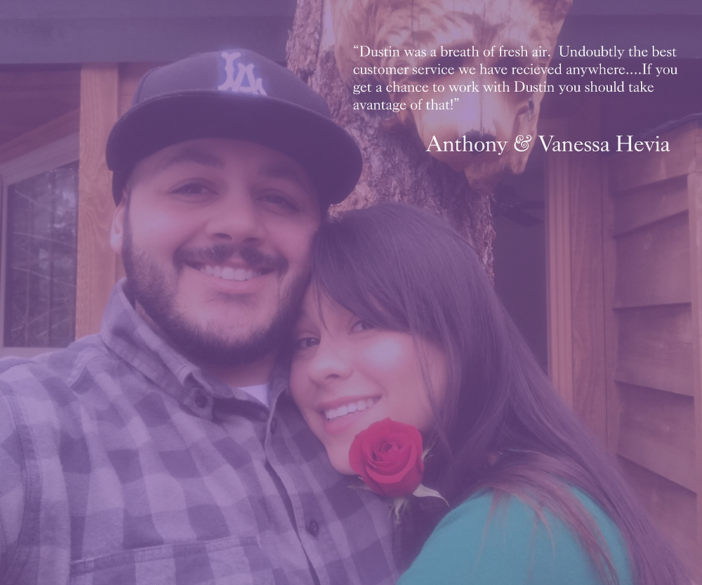 Anthony & Vanessa share their experience working with Dustin Bynum to handle their home buying needs