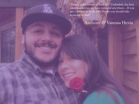 Testimonial Tuesday - Tony & Nessa