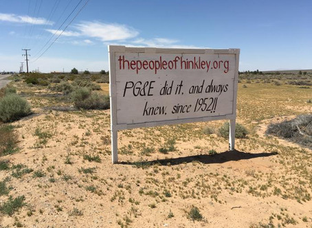 Hinkley CA - Ground Water Contamination & The Erin Brockovich Story
