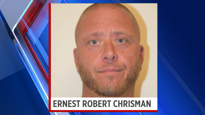 Ernest Robert Chrisman, 43, was arrested Thursday on the following charges:  First-degree burglary Aggravated robbery Second-degree assault