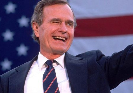 George HW Bush obituary
