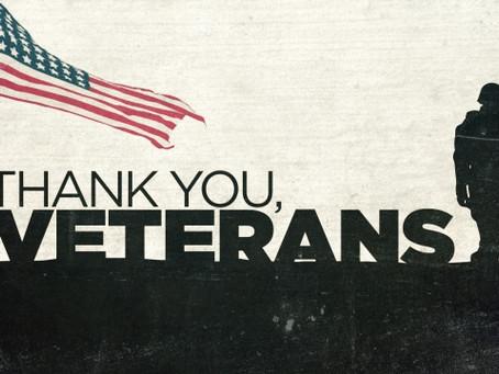 Veterans Day A.K.A. Armistice Day