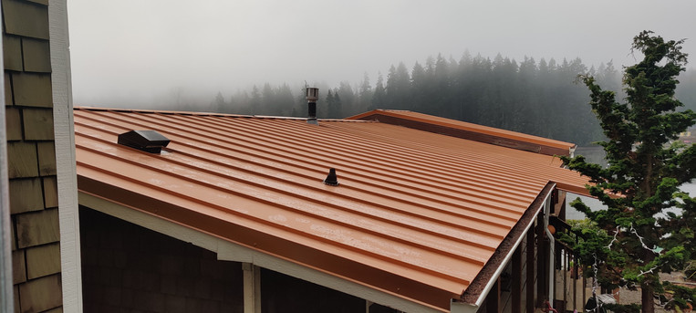 Shelton Metal Roof