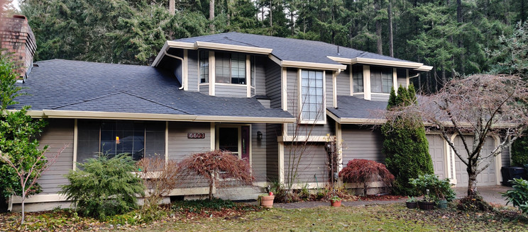 Gig Harbor roof replacement.