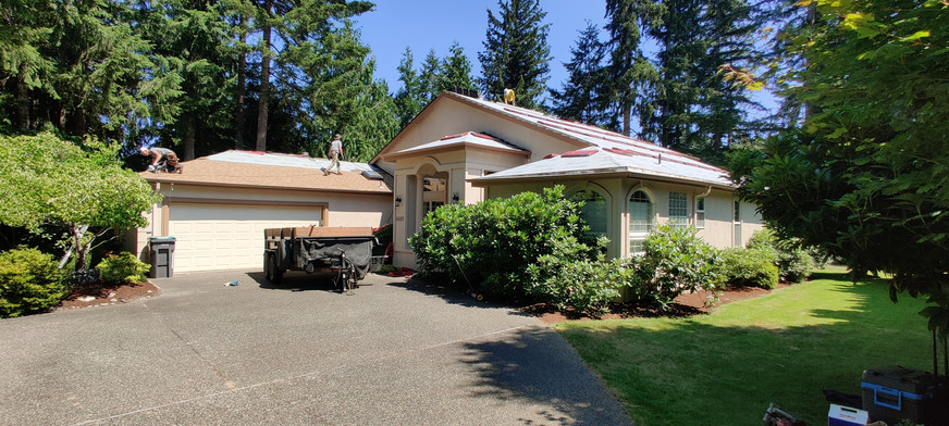 Port Orchard roof replacement