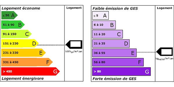 DPE diagnostic de performances energetiques