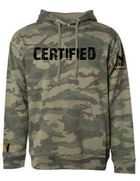 VWBA Premium Hoodie-Camo Certified