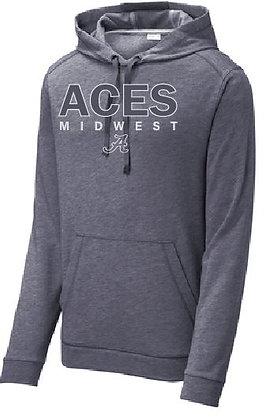 Aces Tri-Blend Wicking Hoodie