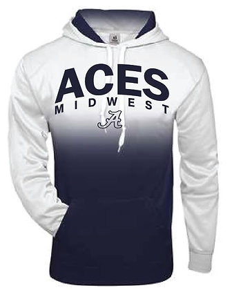 Aces Ombre Hoodie