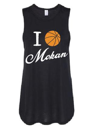 I BB Mokan Women's Slinky Jersey Muscle Tank