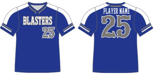 Blasters Team Uniform