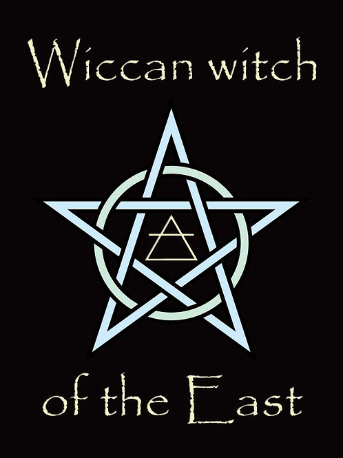 Wiccan Witch of the East Shirt