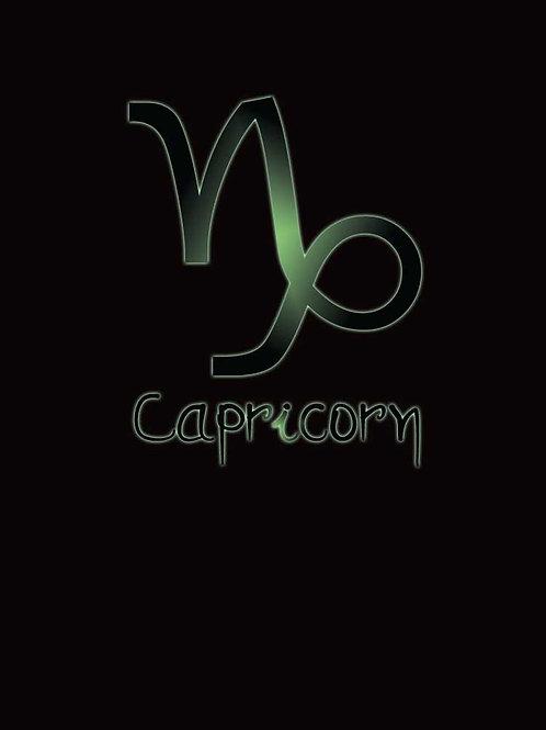 Zodiac Astrology Capricorn Symbol Shirt