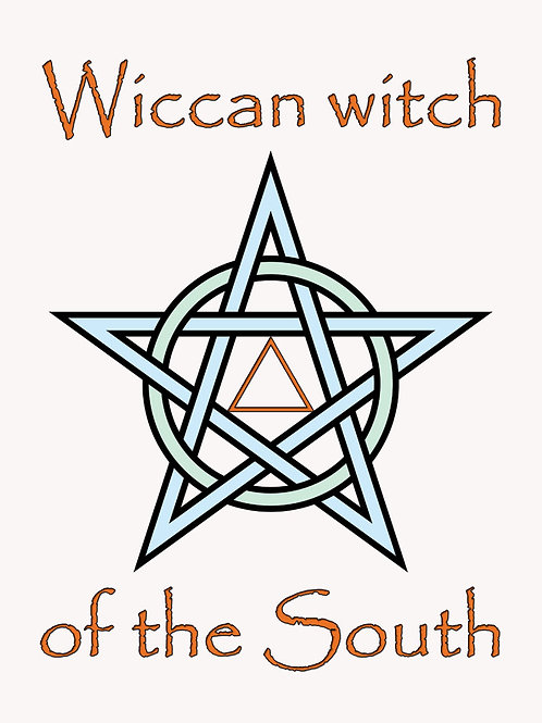 Wiccan Witch of the South Shirt