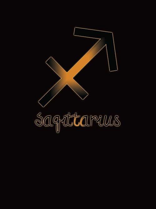 Zodiac Astrology Sagittarius Symbol Shirt