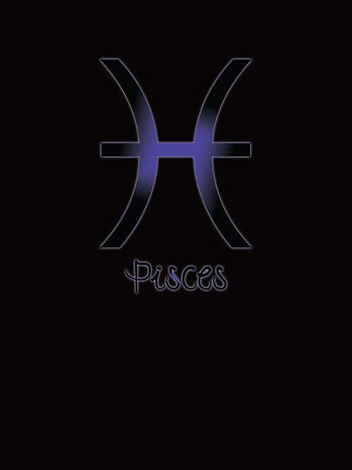 Zodiac Astrology Pisces Symbol Shirt