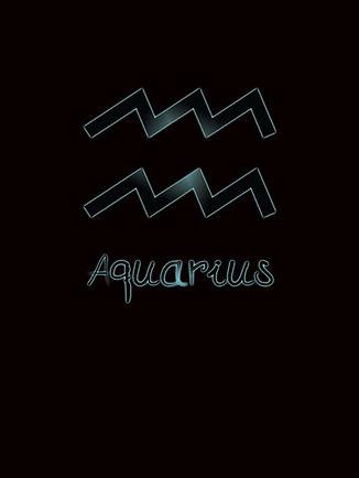 Zodiac Astrology Aquarius Symbol Shirt