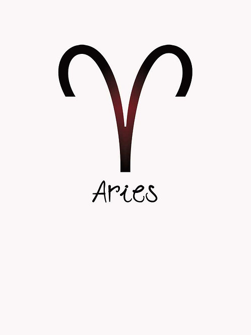 Zodiac Astrology Aries Symbol Shirt