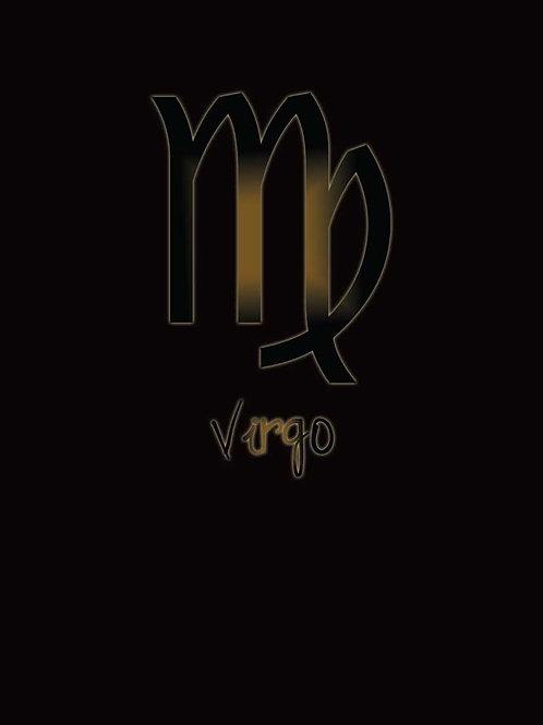 Zodiac Astrology Virgo Symbol Shirt