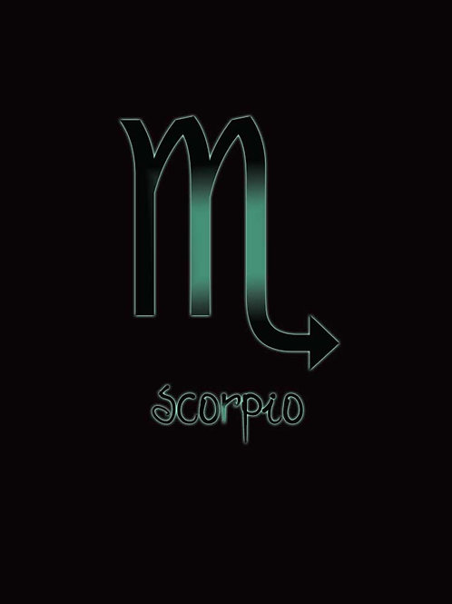 Zodiac Astrology Scorpio Symbol Shirt