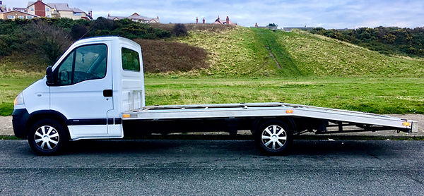Single vehicle transported for collection and delivery of vehicles up to 1500kg