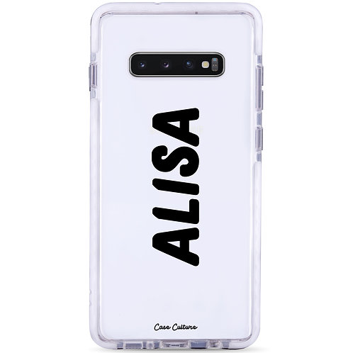Name Case (Font M2) - รุ่น Clear Guard