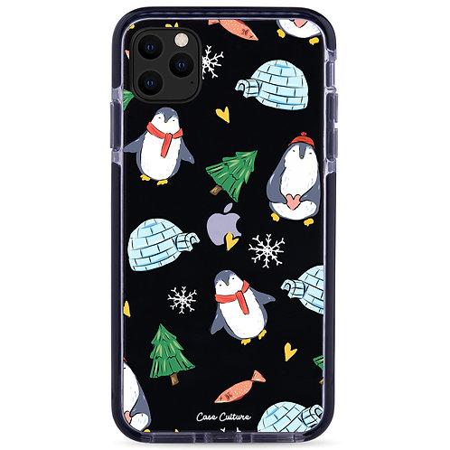 Happy Winter Penguins  - รุ่น Clear Guard