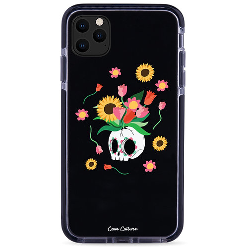 Floral Skull  - รุ่น Clear Guard